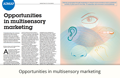 Opportunities in multisensory marketing